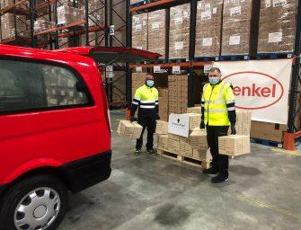 Henkel lanza un programa solidario para paliar los efectos del coronavirus