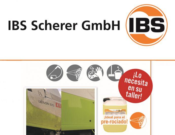 IBS-Limpiador WAS 30.300 para talleres