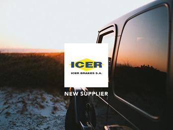 Icer Brakes nuevo proveedor Amerigo International