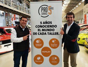 PRO Service celebra su quinto aniversario anunciando importantes novedades
