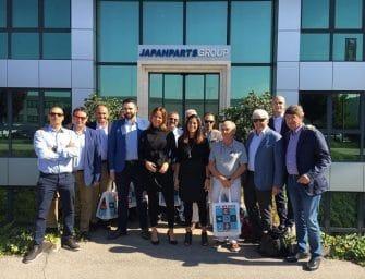 Pemebla visitó las instalaciones de Japanparts en Italia