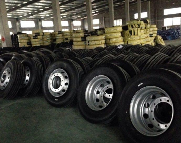 importaciones de neumáticos chinos