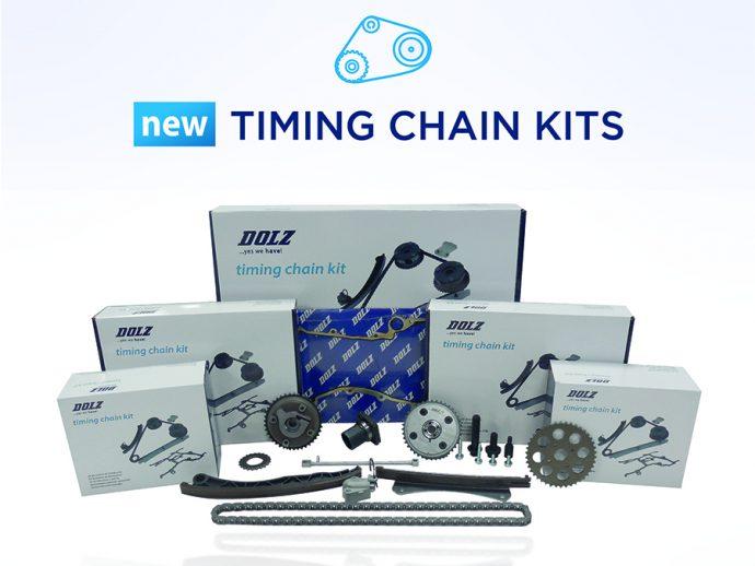 Industrias Dolz lanza su nueva gama de kits de cadena de distribución