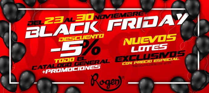 Industrias Rogen descuentos Black Friday 2020