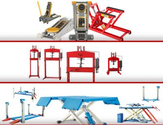 Amplia gama de Hidráulica de Industrias Rogen para talleres de automoción