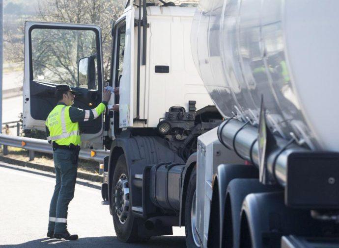 inspecciones al transporte criterios durante estado de alarma