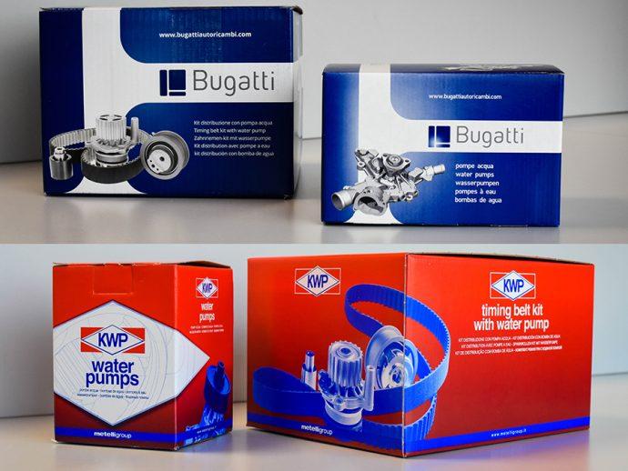 Intragrup porfolio de bombas de agua KWP Cifam Graf y Bugatti