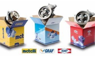 Nuevas bombas de agua para vehículos industriales pesados de Metelli