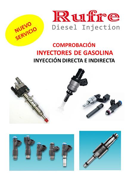 Inyección Gasolina RUFRE