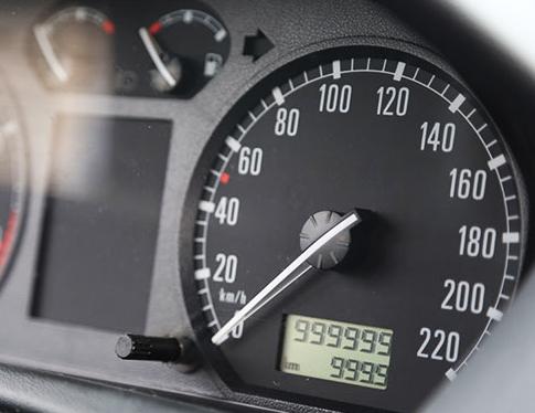 irregularidades en el kilometraje de vehículos