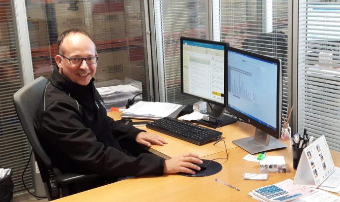 Isaac Huerta gerente PRO Service Girona