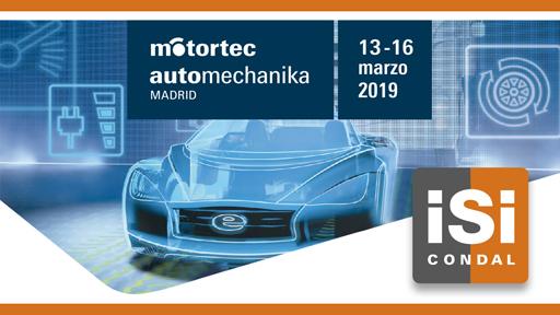 Isi Condal presencia Motortec Automechanika 2019