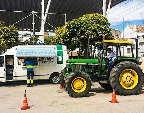 ITV móvil para vehículos agrícolas