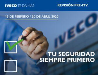 Iveco activa sus nuevas promociones de revisión pre-ITV