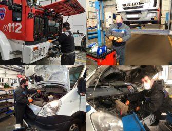 Iveco asegura el mantenimiento de los vehículos destinados al transporte