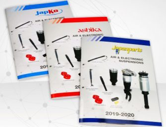 Japanparts presenta sus nuevos catálogos de suspensiones neumáticas y controladas electrónicamente