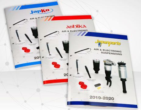Japanparts nuevos catálogos suspensiones neumáticas y controladas electrónicamente