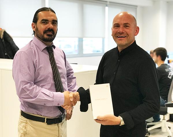 Javier Martin-Albo primer premio concurso Motortec 2019