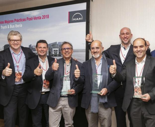 Jerez Truck, ganador de los Premios Mejores Prácticas en Posventa de MAN Truck & Bus