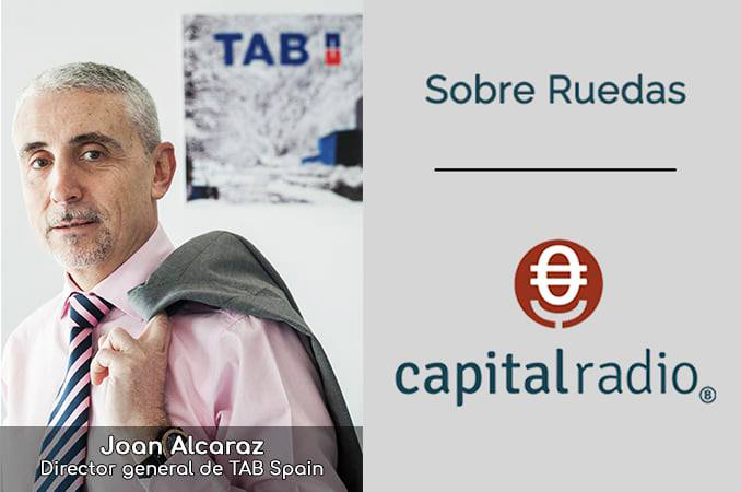 Joan Alcaraz TAB Spain explica nueva batería TAB 5G en Sobre Ruedas de Capital Radio