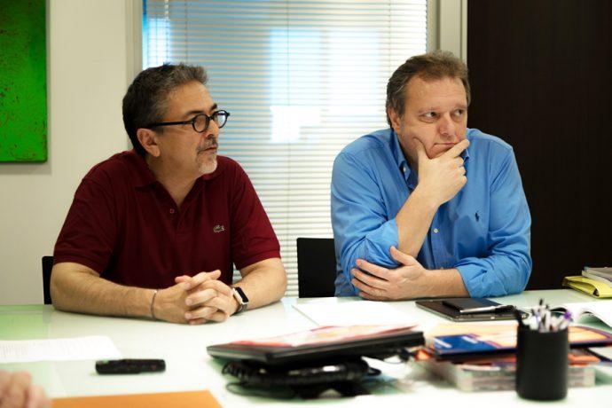 Jordy Blay y Salvador Roca, XB Components