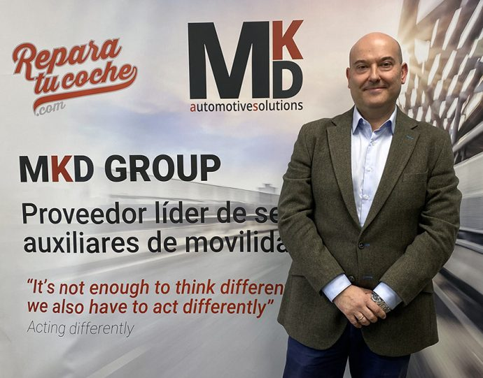 José Antonio Camellín nuevo subdirector general corporativo MKD Automotive