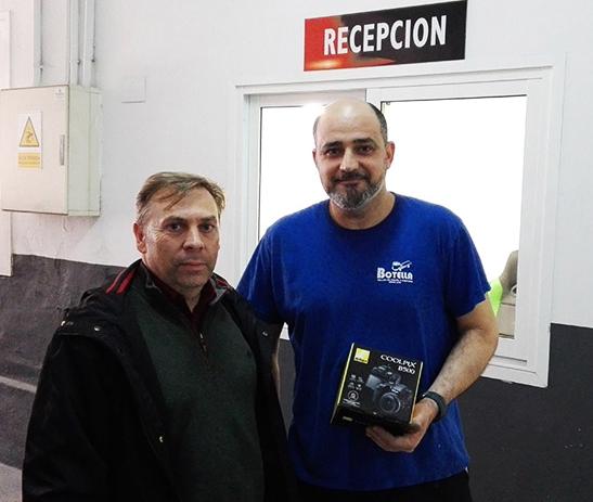 José Botella segundo premio concurso Motortec 2019