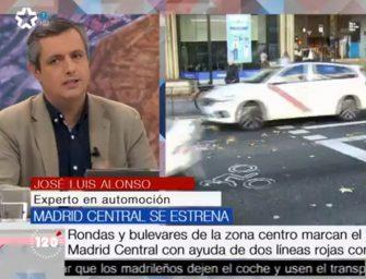 Reparatucoche.com analiza y debate sobre Madrid Central en Telemadrid