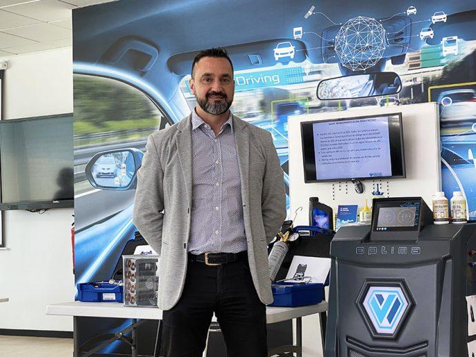 José Manuel Jiménez director Comercial de Wigam Ibérica