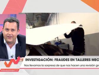 Reparatucoche.com analizó en Telecinco las características de los talleres de confianza