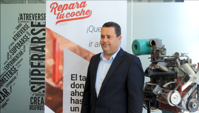 José Piñera CEO de reparatucoche.com