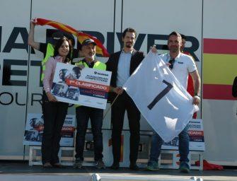 Juan Romeral, campeón de la final española del Campeonato de Conductores de Scania