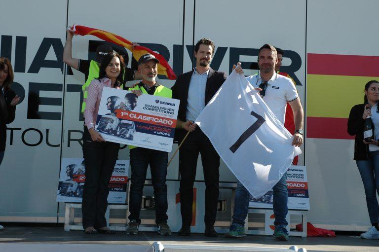 Juan Romeral ganador final española Campeonato de Conductores Scania