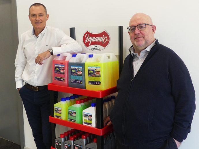 Julio Estallo (director comercial) y Juan Luis Capella (director general) de Siker Products Dynamic