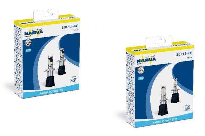 Lámparas delanteras LED Retrofit Narva