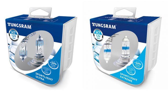 lámparas halógenas Tungsram Sportlight