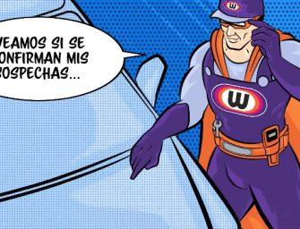 Nace Capitán Wynn's, el nuevo superhéroe de la limpieza en el taller