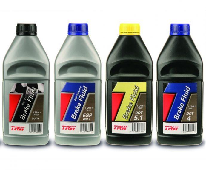 líquido de frenos TRW