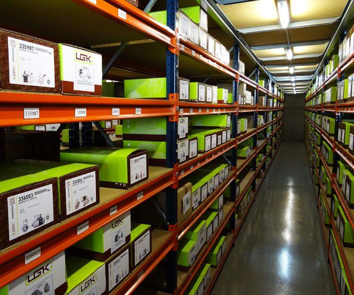 Logistik distribucion recambios electricos