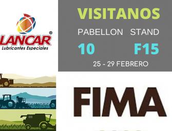 Lancar, presente un año más en el salón FIMA de Zaragoza