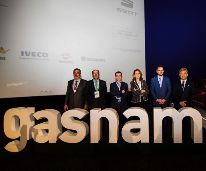 Luca de Meo VI Congreso Gasnam anuncio Seat GNC Volkswagen
