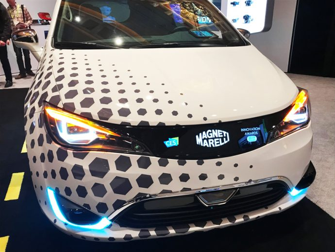 Magneti Marelli Smart Corner NAIAS 2019