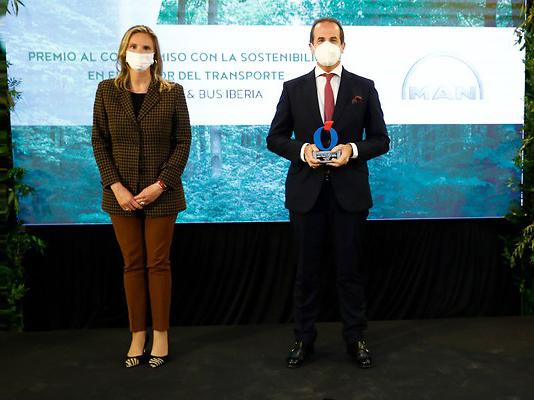 MAN recibe un galardón en los Premios Sostenibilidad y Medioambiente del diario La Razón
