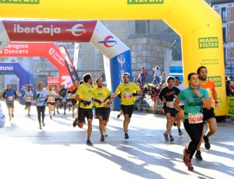 La MANN-FILTER Maratón volvió a las calles de Zaragoza tras la pandemia