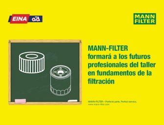 MANN-FILTER forma a futuros mecánicos en fundamentos de la filtración