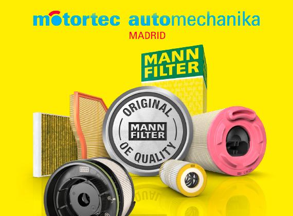 MANN-FILTER soluciones para filtración en Motortec 2019