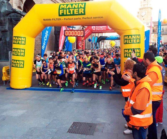 Maratón Ciudad de Zaragoza MANN-FILTER