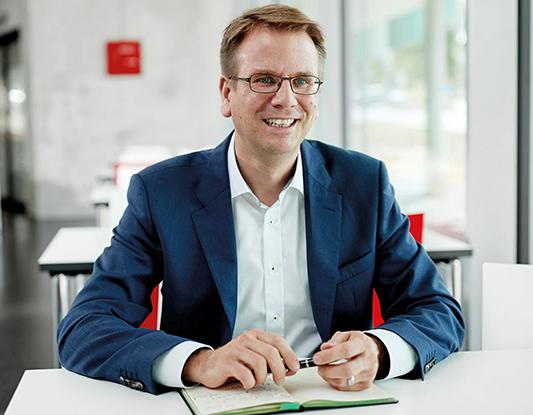 Martin Klein, Vicepresidentede Filtración de aire del habitáculo en MANN+HUMMEL