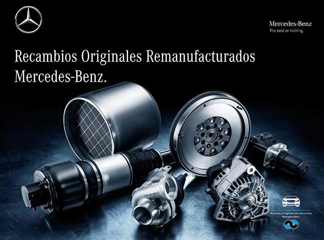 recambios originales remanufacturados mercedes-benz