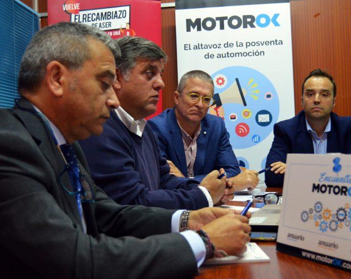 mesa redonda MotorOK ASER proveedores